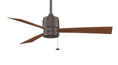 Indoor/Outdoor Ceiling fan Zonix OB Wet Ø132 with Pull Chain