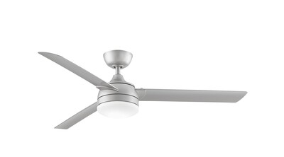 Indoor/Outdoor Ceiling fan Xeno Wet BN Ø142 light integrated wall control included
