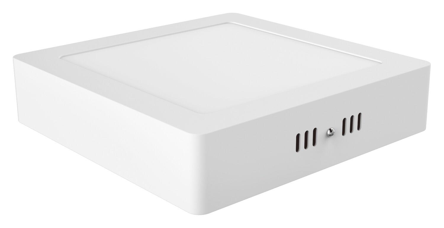 Intego Surface Mounted Ecovision, 225mm, Square, 18W LED