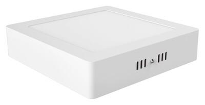 Intego Surface Mounted Ecovision, 225mm, Square, 18W LED
