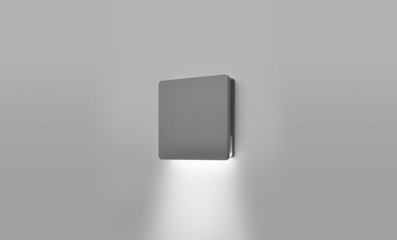 ECLIPSE MINI SQUARE 01 mono-directional LED Wall light 4W