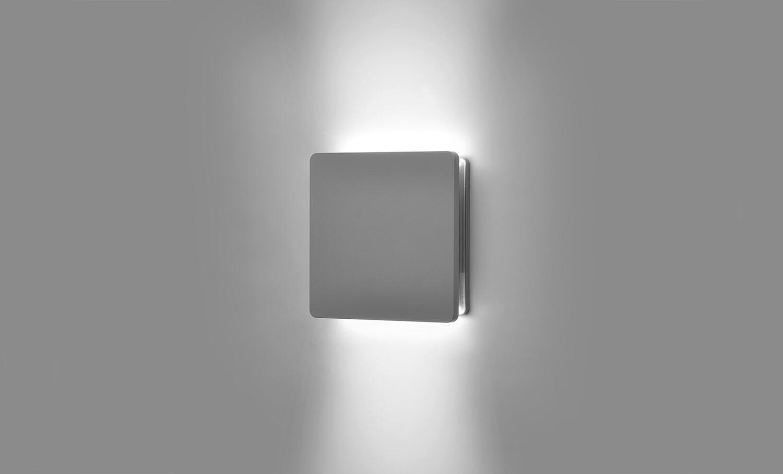 ECLIPSE MINI SQUARE 02 bi-directional LEDWall light 8W