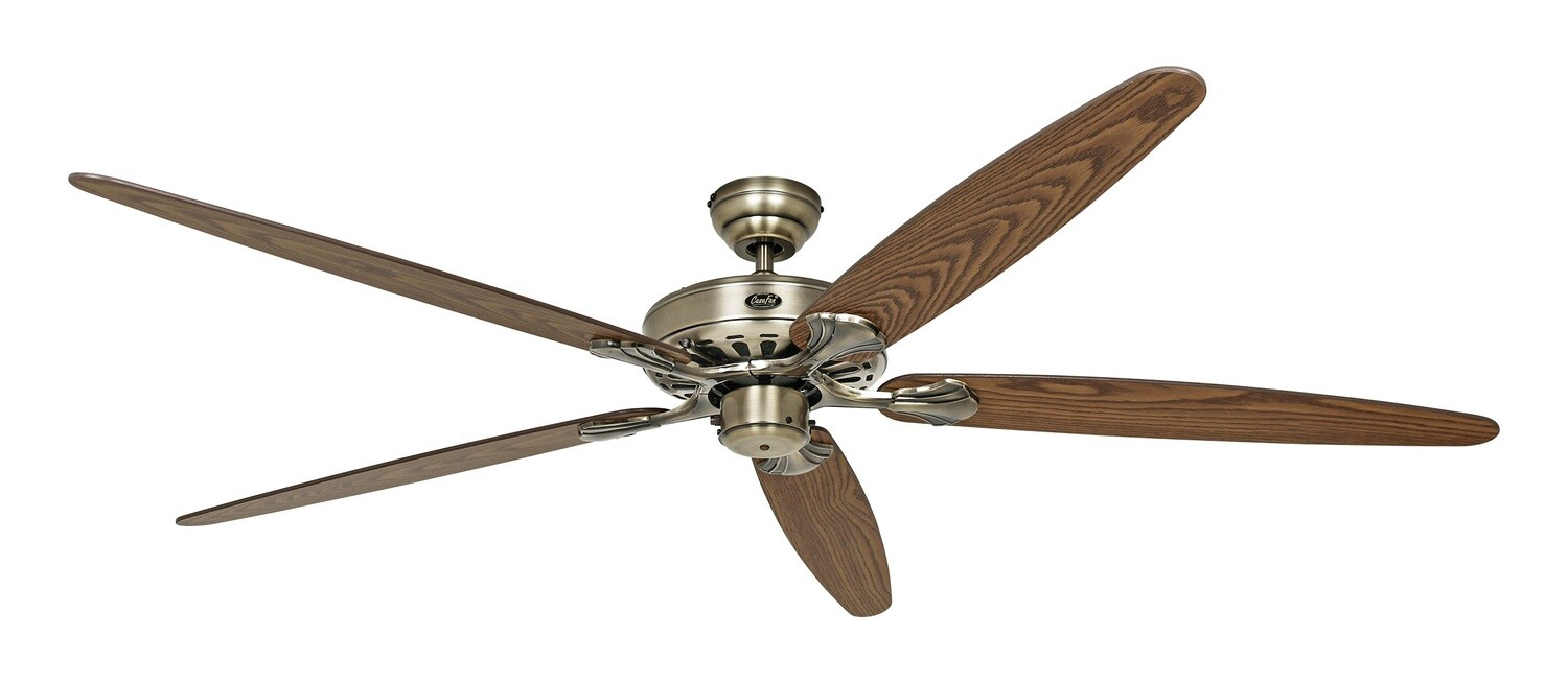 Classic Royal 180 MA antique oak/walnut ceiling fan by CASAFAN Ø180cm with Pull Chain