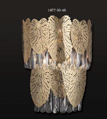 POSITANO 4 LIGHT WALL LAMP GOLD COLOR 4xE14