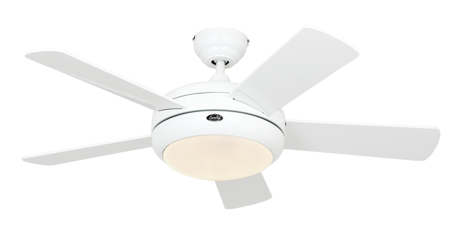 Titanium 105 WE-WE ceiling fan by CASAFAN Ø105 light integrated and remote control included
