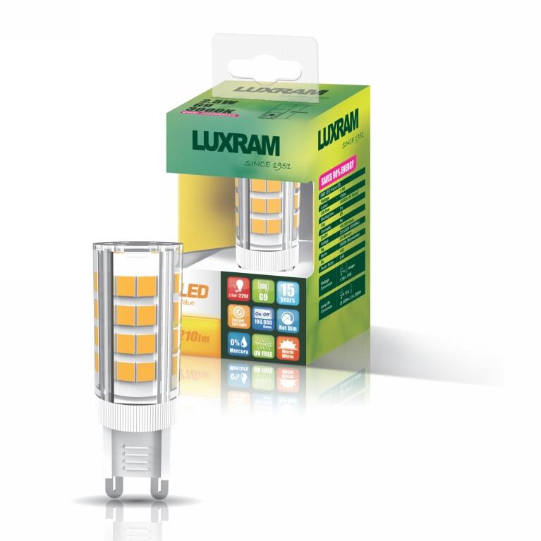 G9-LED 4 Watt 3000K (warm white) 350lm DIMMABLE