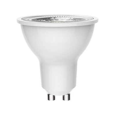 GU10-LED 6W beam 38º 3000K (warm white)  350lm DIMMABLE