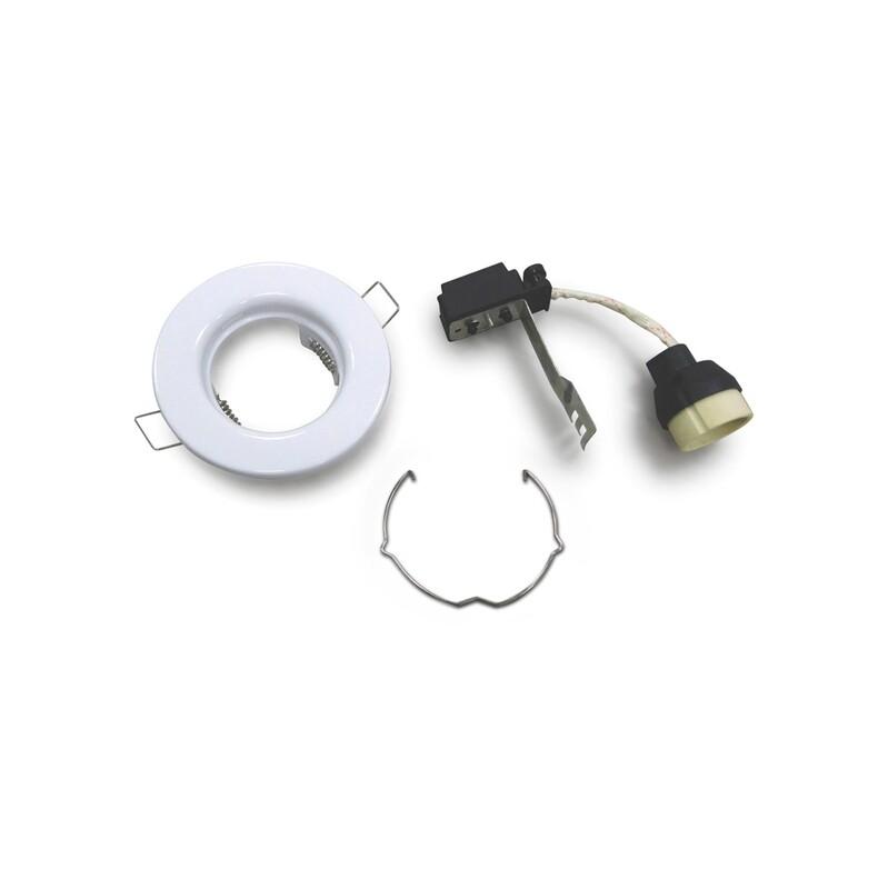 Hudson Fixed Spot FRAME WHITE for LED GU10 light-source