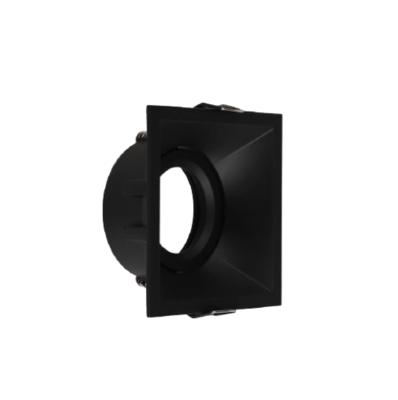 ARO square tiltable Spot FRAME BLACK for LED GU10 light-source