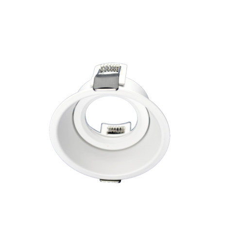 ARO round tiltable Spot FRAME WHITE for LED GU10 light-source