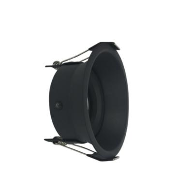ARO round tiltable Spot FRAME BLACK for LED GU10 light-source