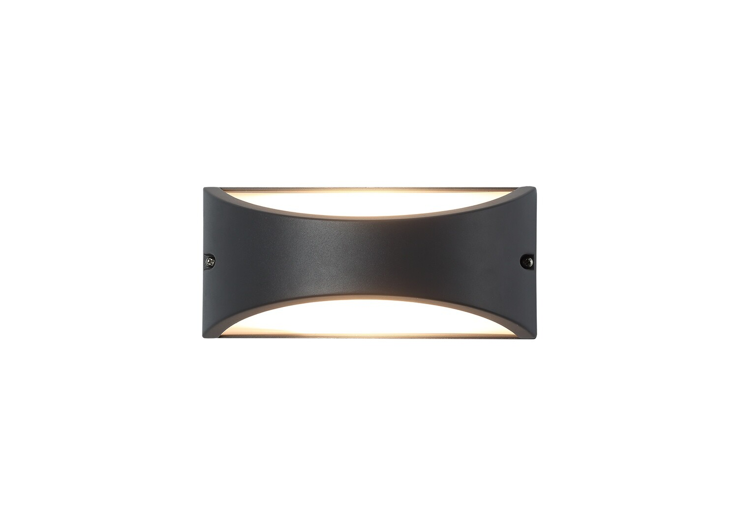Skelly Outdoor Wall Lamp, 10W LED, 3000K, IP54, Antracite