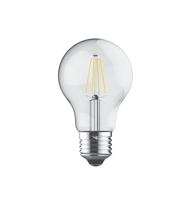 PACK OF 6 E27-LED filament-A60 6.5 Watt 2700K (warm white) 806lm clear