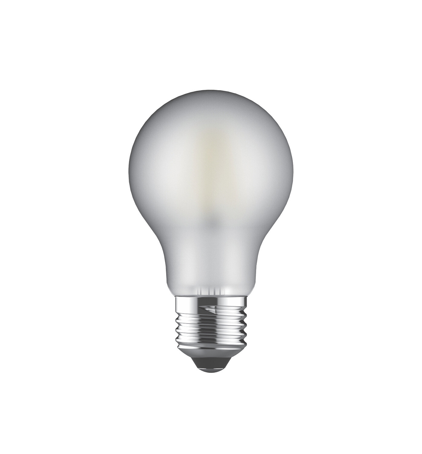 PACK OF 6 E27-LED filament-A60 8 Watt 2700K  (warm white)  806lm frosted