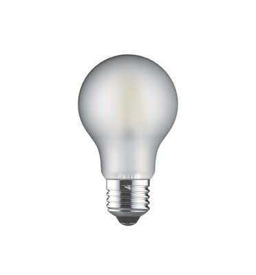E27-LED filament-A60 8 Watt 2700K  (warm white)  806lm frosted