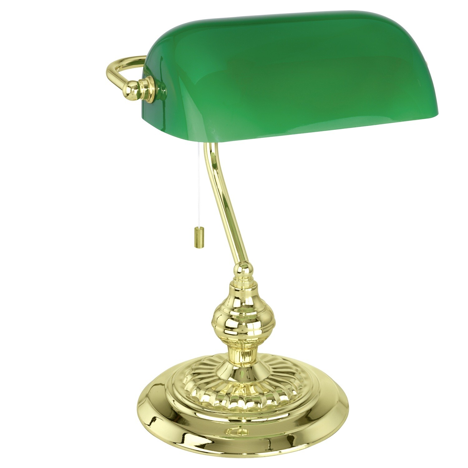 EGLO Banker 1xE27 diam. 266x414mm Table Lamp/Gold