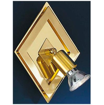 Eglo Diamond Base Single Spot  GU10 Brass Matt/Brass CARO
