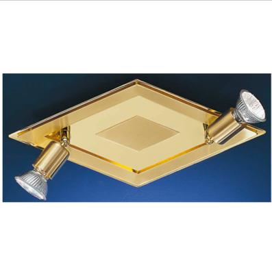 Eglo Diamond Base 2 spot GU10 Brass matt/Brass CARO