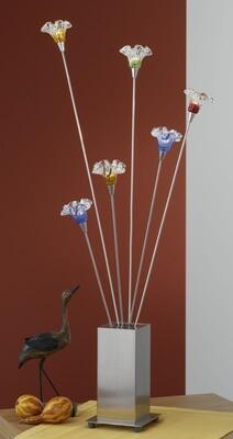 EGLO CHICO 6x10W diam. 130x800mm Floor Lamp/Coloured Glass