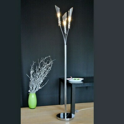 EGLO Forio 3xG4 diam. 240x1515mm Floor Lamp/Chrome