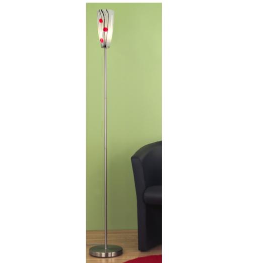 EGLO Grafos 1xE14 diam. 230x1470mm Floor Lamp/Chrome