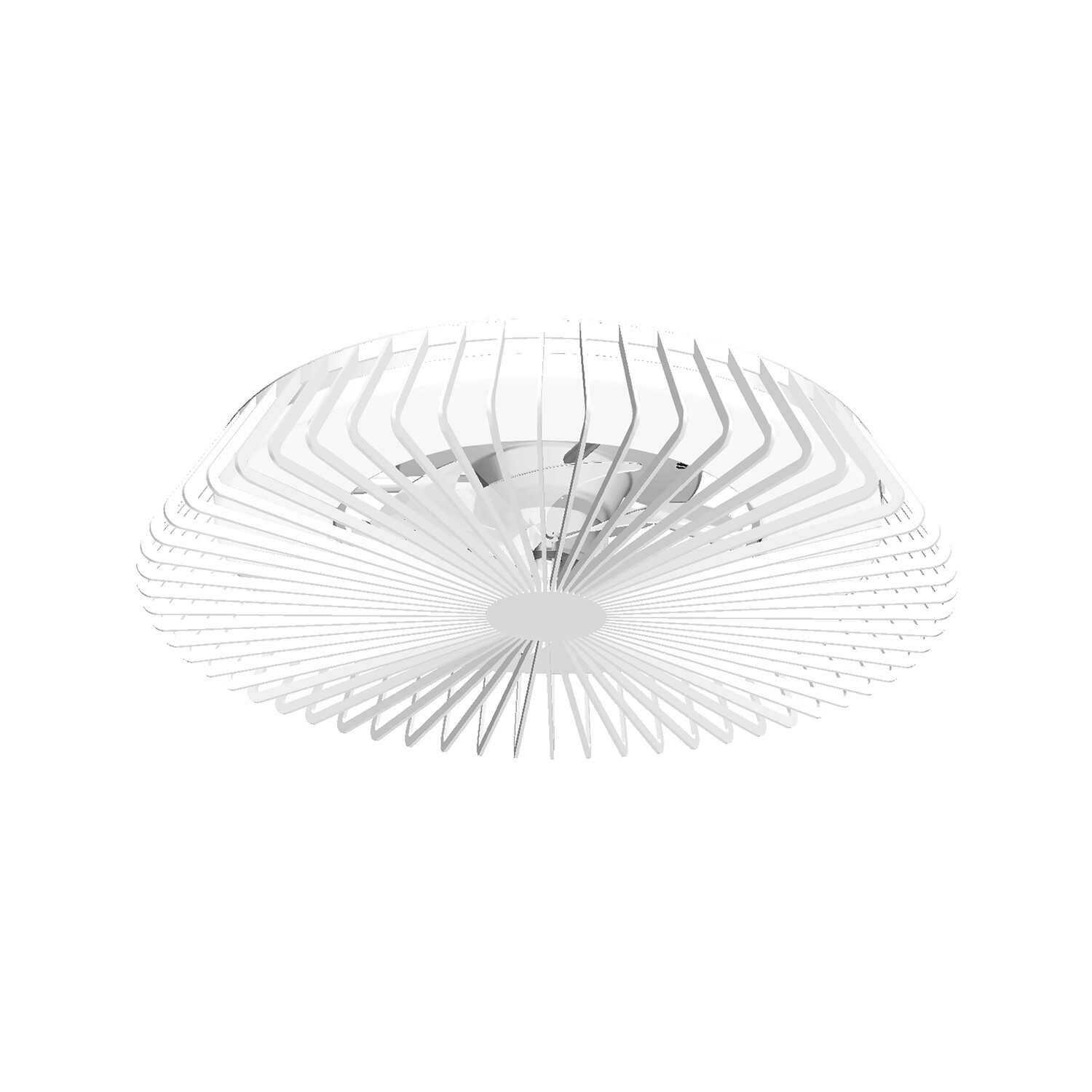 Himalaya 70W LED Dimmable Ceiling Light With Built-In 30W DC Fan, c/w Remote Control and APP Control, 3000lm, White, 5yrs Warranty