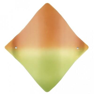 EGLO Libra 1xE27 420x415mm/Orange Glass Ceiling Light