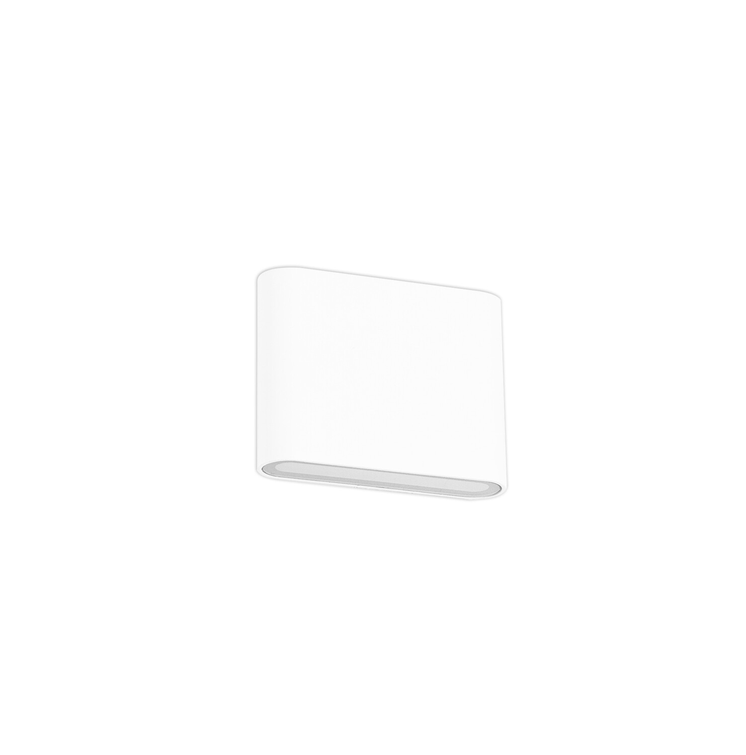 Contour Small Up &  Down Wall Light LED 2x3W 350lm 3000K IP54 Sand White