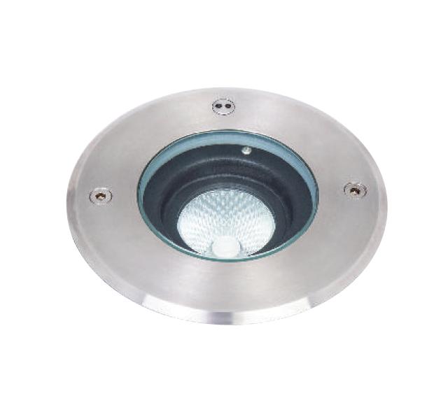 Asphalt pro orientable Inground LED luminaire IP67 6W STAINLESS STEEL