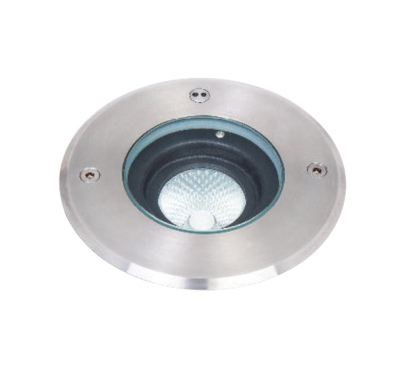 Asphalt pro orientable Inground LED luminaire IP67 6W STAINLESS STEEL