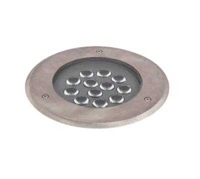 Asphalt Inground LED luminaire IP67 13W STAINLESS STEEL
