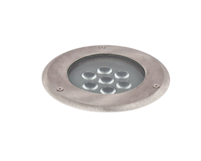 Asphalt Inground LED luminaire IP67 9W  STAINLESS STEEL