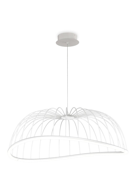 Celeste Pendant 81cm Round, 40W LED, 3000K, 2800lm, White