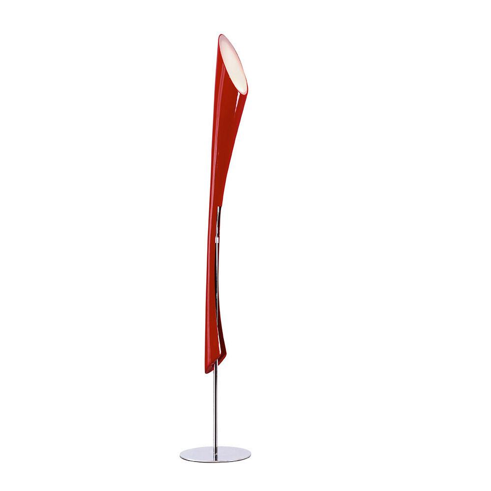 Pop Floor Lamp 3 Light E27 red