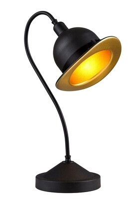 cowboy black table lamp 1xE27