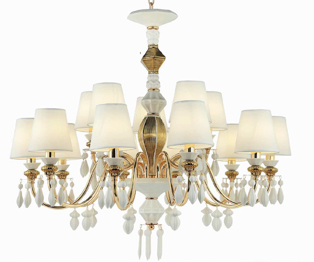 OSTAR 15 LIGHT CHANDELIER