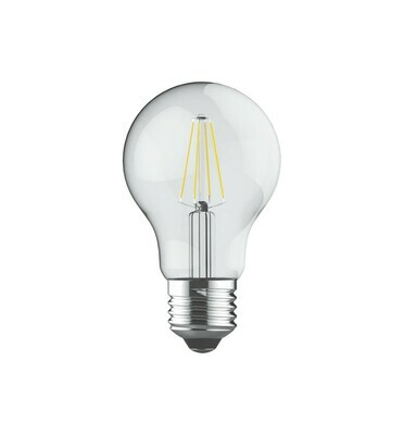 E27-LED filament-A60 6.5 Watt 4000K (natural white) 806lm clear DIMMABLE