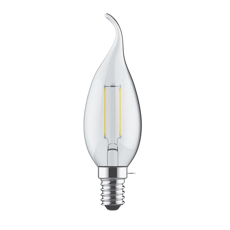 E14-LED filament-candletip 4 Watt 2700K (warm white) 500lm clear