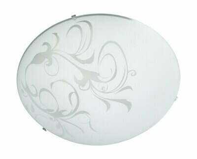 FAY ceiling lamp white 2xE27 Ø400/H40