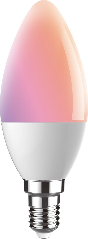 Digit-Wi-Fi 5W E14 Candle, RGB+CCT 2700K-6400K, 350lm, APP Control, Alexa & Google Voice Control