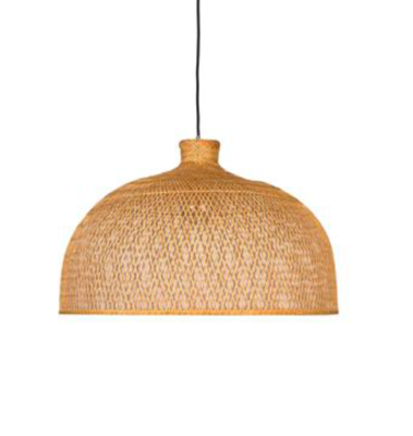 M1 braided bamboo pendant