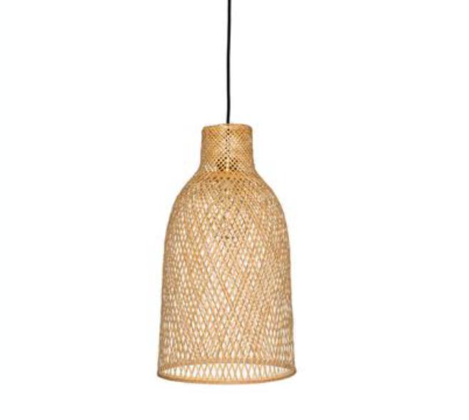 M2 braided bamboo pendant
