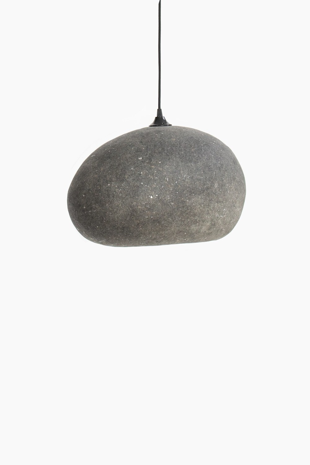 Pebble grey pendant