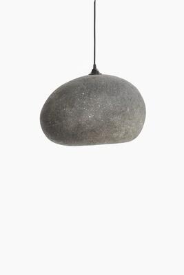 Pebble grey pendant