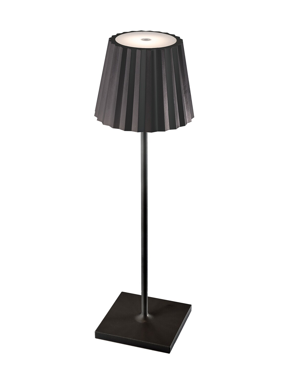 K2 Table Lamp, 2.2W LED, 3000K, 188lm, IP54, Black