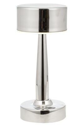 Tischlein portable Table Lamp, 4W LED, 4000K, 400lm, IP44, Chrome