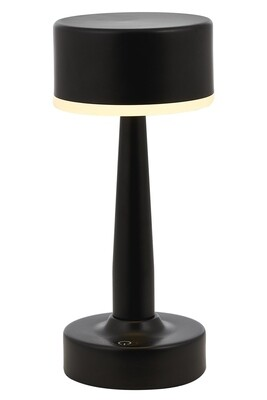 Tischlein portable Table Lamp, 4W LED, 4000K, 400lm, IP44, Black