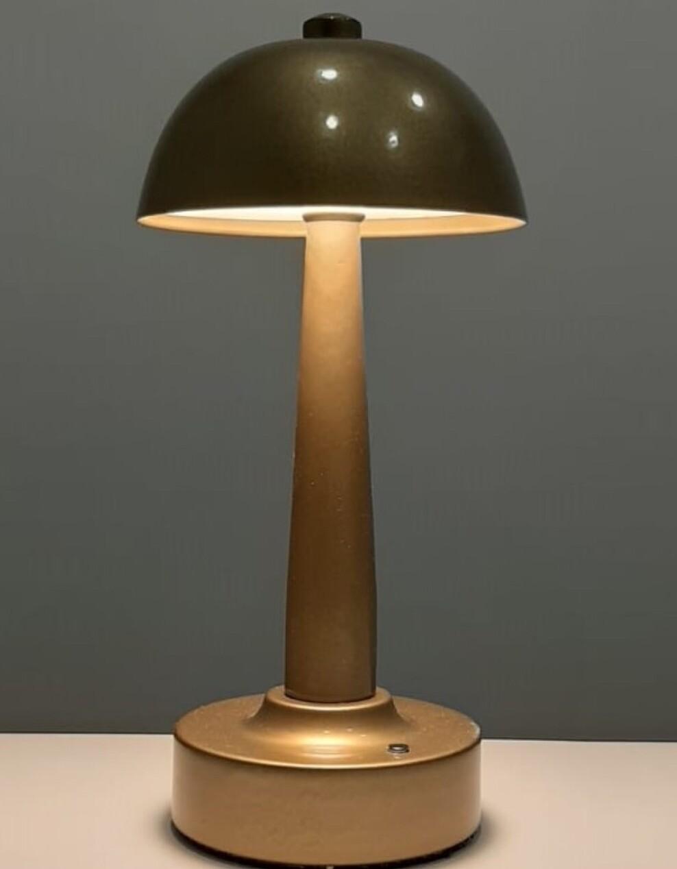 Deck portable Table Lamp, 4W LED, 4000K, 400lm, IP44, Antique