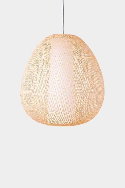 Twiggy Egg natural pendant 1xE27