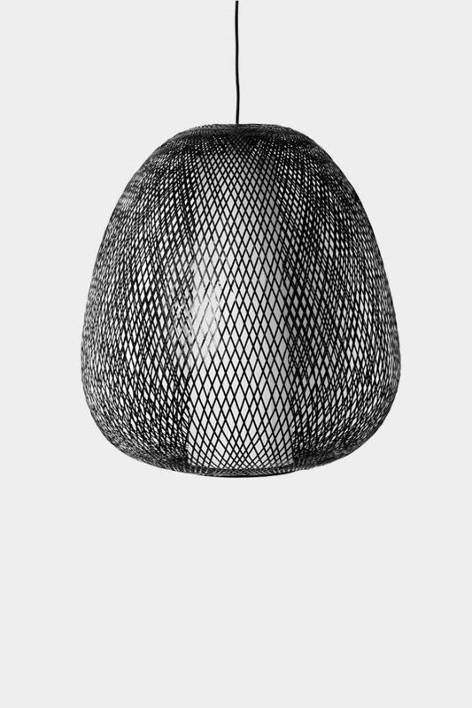 Twiggy Egg brown pendant 1xE27